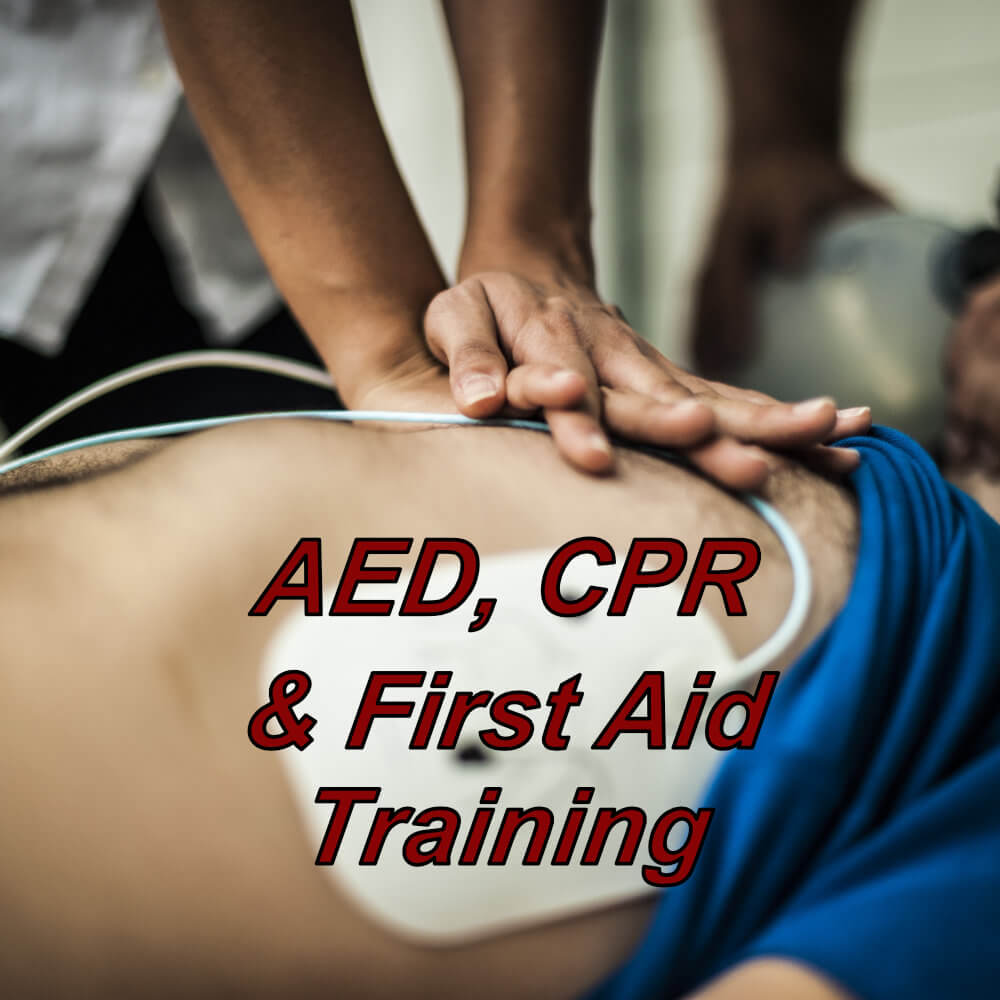 CPR, AED & first aid training combined course