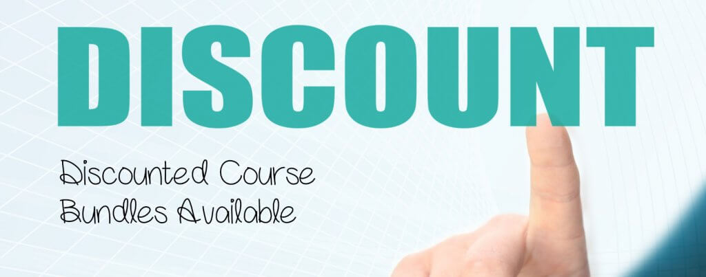Discounted course bundles available