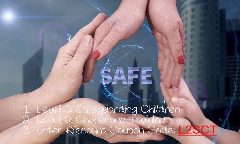 Level 2 safeguarding children and chaperone training discounted course bundle