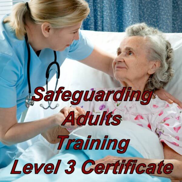 Safeguarding Adults training, level 3 certification, suitable for NHS workers & staff