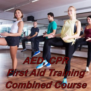First aid, CPR & AED training combined course, suitable for dance teacher's, instructors, performing arts sector