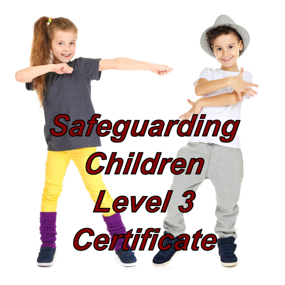 Safeguarding Children, level 3 approved online certification, suitable for dance teacher's, instructors and the performing arts sector.